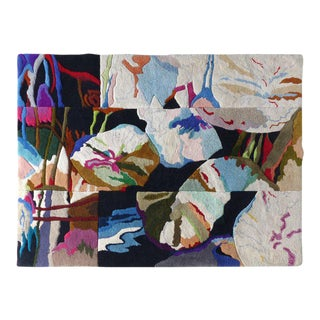 Robert Lynn Cranford Hand-Tufted Wall Hanging Tapestry