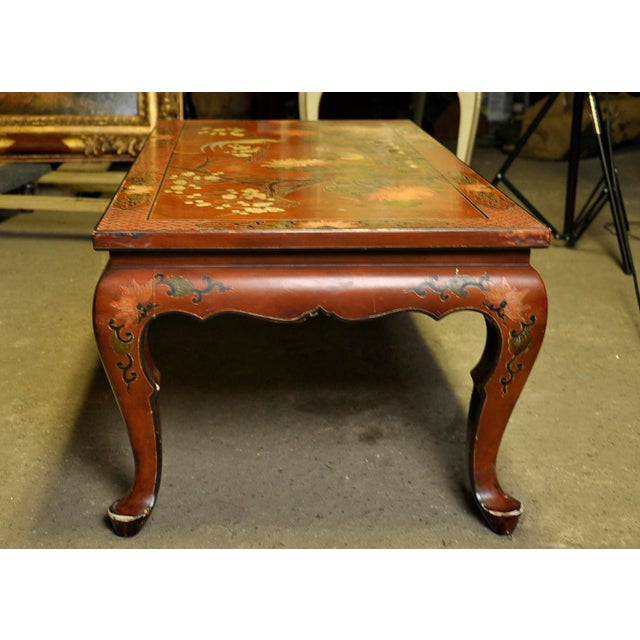 Vintage Asian Style Coffee Table - Image 7 of 8