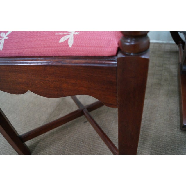 Quality Mahogany Chippendale Corner Arm Chair - Image 10 of 10