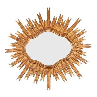 Mid-20th Century Spanish Sunburst Mirror