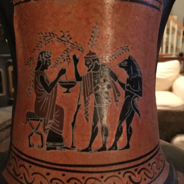 Greek Double Handle Vase - Image 3 of 10