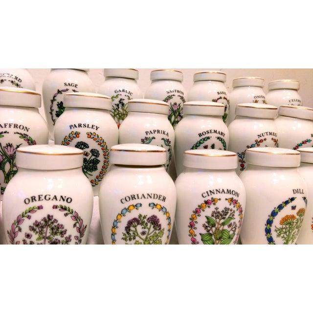 Image of Franklin Mint Spice Jars - Set of 23
