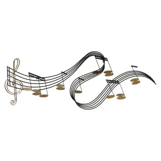 Curtis Jere Musical Note Wall Sculpture
