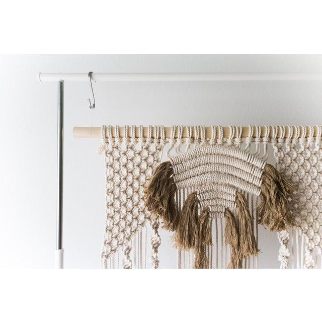Image of Natural Macrame Wall Hanging