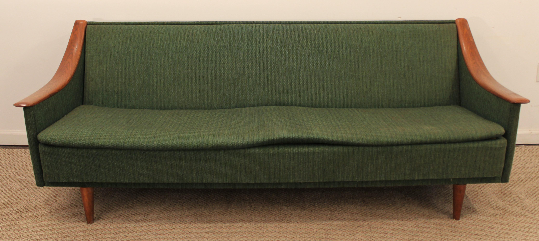 Mid Century Danish Modern Adrian Pearsall Style Sofa   Image 2 Of 10