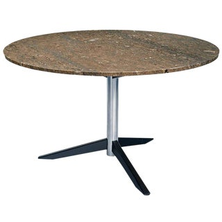 Danish Model Te06 Dining Table with Italian marble top by Martin Visser