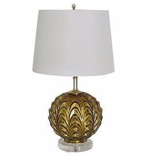 Regency-Style Gold Mercury Lamp