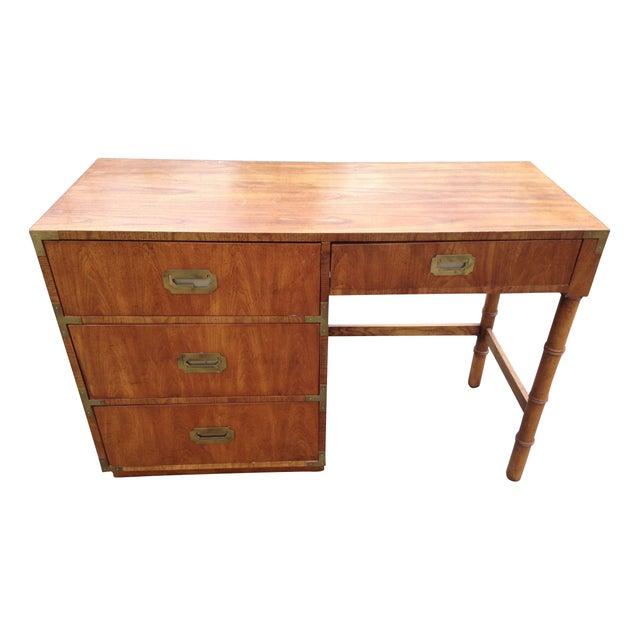 Mid Century Dixie Furniture Campaigner Desk Chairish