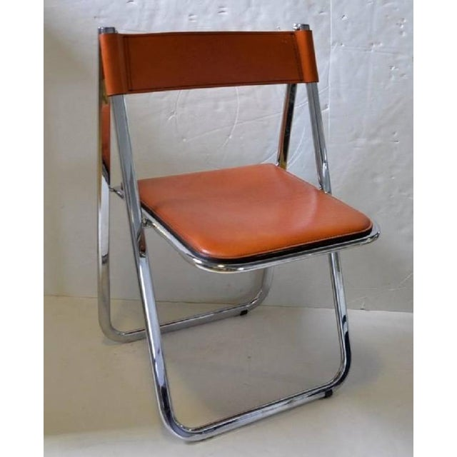 Tamara Folding Chairs by Arrben - A Pair - Image 4 of 7