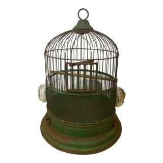 Hendryx Green Bird Cage
