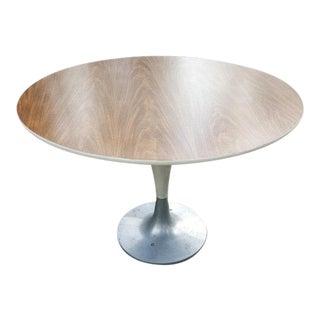 Mid-Century Modern Round Tulip Style Dining Table