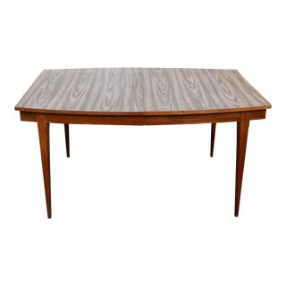 Mid-Century Danish Modern Surfboard Dining Table