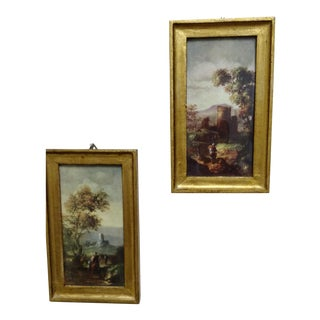 Framed Florentine Wall Pictures - A Pair