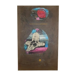 Paul Klee Vintage Modernist Abstract Print