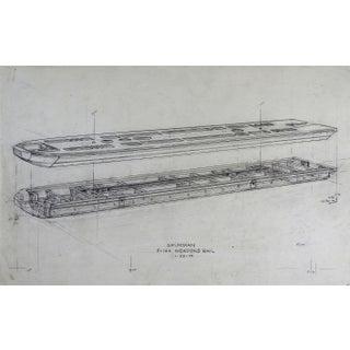 Grumman F-14A Weapons Rail Spec Drawing