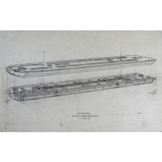 Grumman F-14A Weapons Rail Spec Drawing