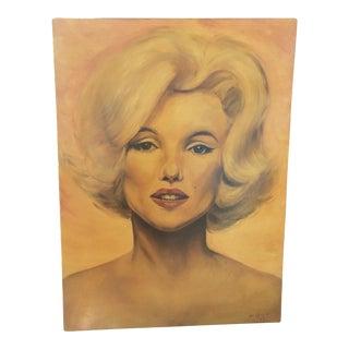 Vintage Marilyn Monroe Painting