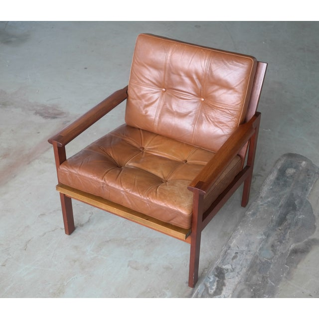 "Illum Wikkelsø ""Capella"" Teak Easy Chair - Image 2 of 9"