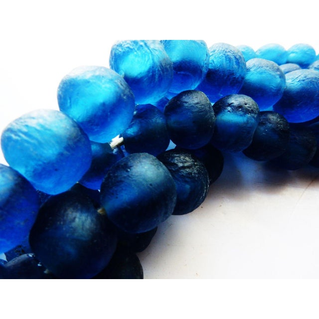 African Jumbo Glass Trade Bead Strands - Set of 5 - Image 4 of 8