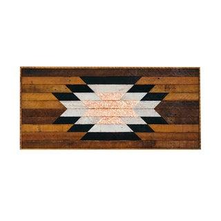 Reclaimed Wood Southwestern Starburst Wall Art