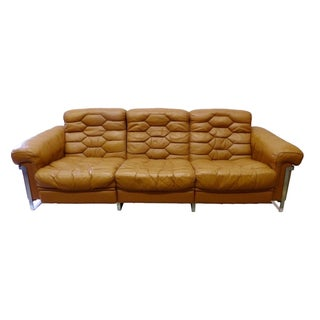 Reclining Three Seat Sofa by DeSede