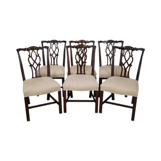Kindel Mahogany Dining Chairs - Set of 6