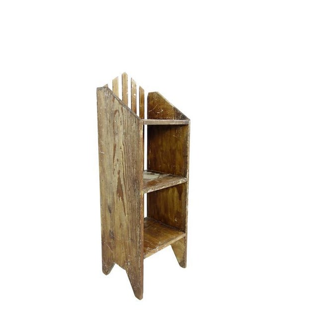 Primitive Painted Three-Tier Shelf - Image 4 of 9