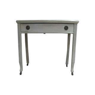 Vintage Grey Faux Finished Side Table