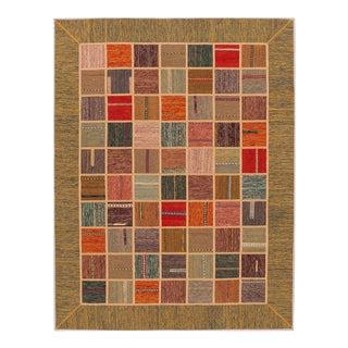 """Apadana - Persian Flat-weave, 5'11"""" x 7'9"""""""