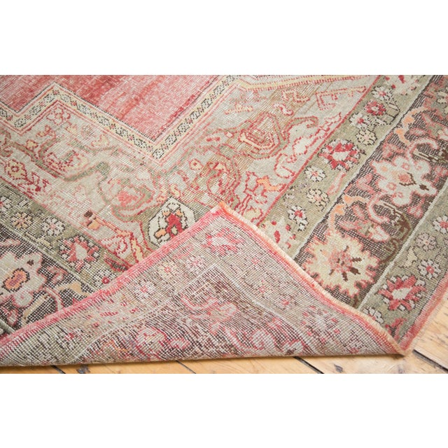 "Distressed Oushak Carpet - 7'6"" X 12'6"" - Image 10 of 10"