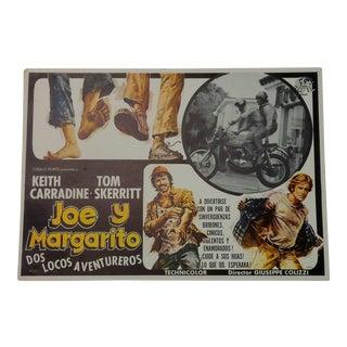 Joe Y Margarito Spanish Motorcycle Movie Poster
