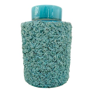 Contemporary Textured Ginger Jar