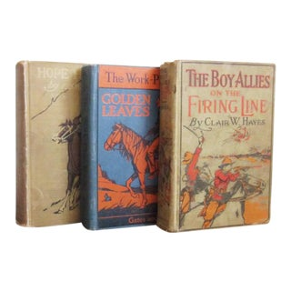 Vintage Wild West Books - Set of 3