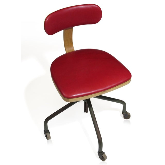 1931 Jorgen Rasmussen for Fritz Hansen Office Chair - Image 6 of 9