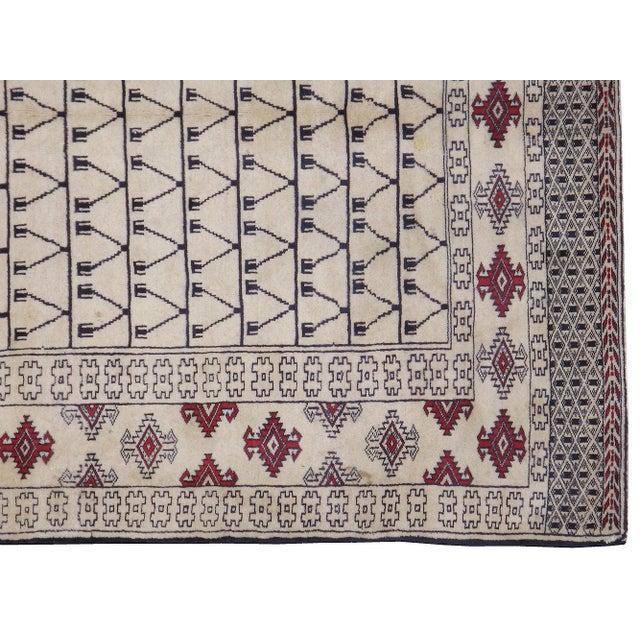 "Vintage Persian Baluchi Rug - 3'10"" X 5'10"" - Image 3 of 3"