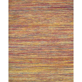 Contemporary Sari Silk Kilim Rug - 8' X 10'