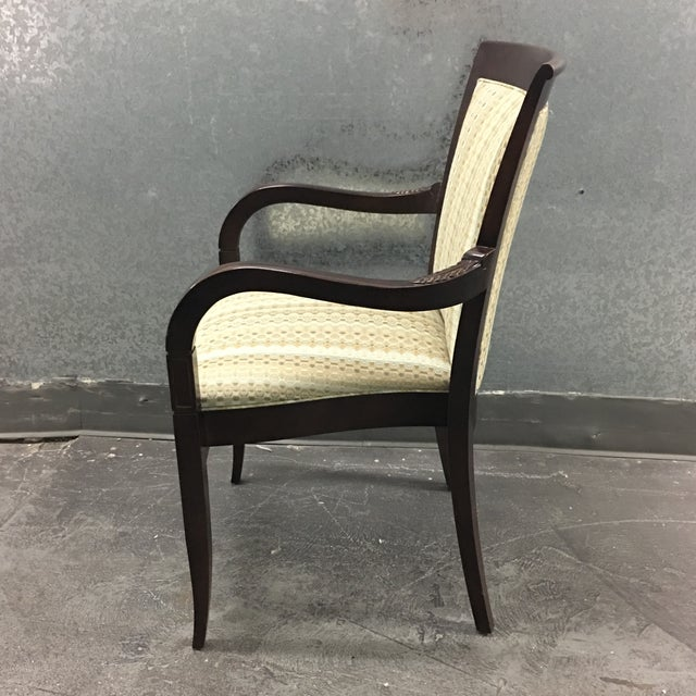 Hickory Geometric Upholstered Sticking Chair - Image 4 of 7