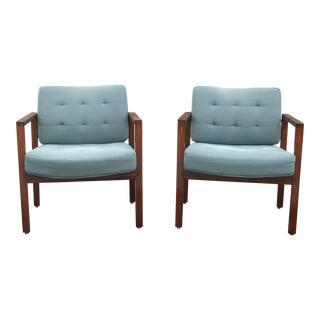 Mid-Century Club Chair - A Pair