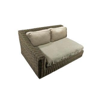 Left Arm Outdoor Rattan Sofa