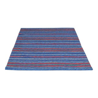 "Swedish Double Sided Rollakan Rug - 4'5"" X 6'5"""