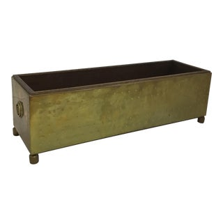 Sarreid Brass Planter