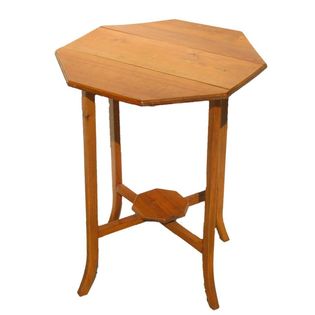 English Narrow Drop Leaf Table - Image 2 of 4