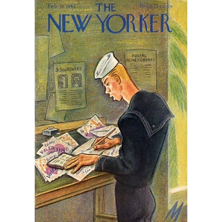 New Yorker Cover, Valentine's Day 1942
