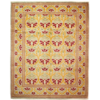 """Arts & Crafts Hand Knotted Area Rug - 8'4"""" X 10'2"""""""