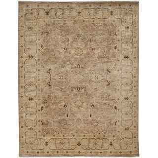 """Oushak Hand Knotted Area Rug - 4'10"""" X 6'4"""""""
