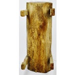 Image of Antique Primitive Log Bench