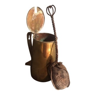 Antique Brass Fire Starting Kit