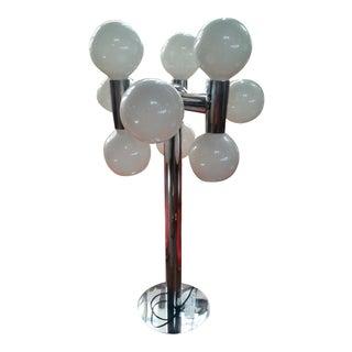 Robert Sonneman Molecule Chrome Lamps - A Pair
