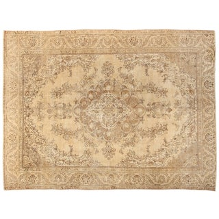 """Hand-Knotted Tabriz Rug - 8'8"""" x 11'7"""""""