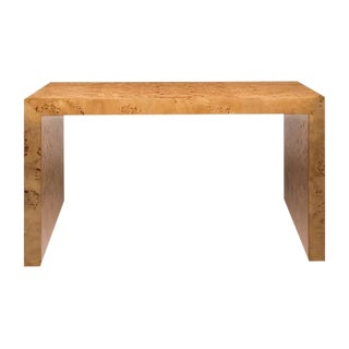 Gilbert Rohde Inspired Maple Burl Console